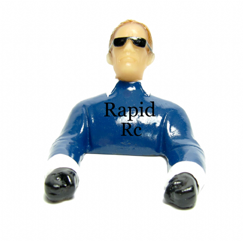 Pilot Large Civilian with Arms (Painted) P42-X Blue
